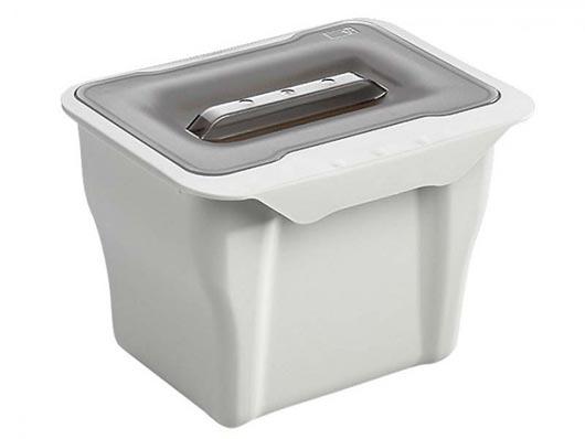 wesco kitchen box bio m lleimer kleiner abfalleimer f r. Black Bedroom Furniture Sets. Home Design Ideas