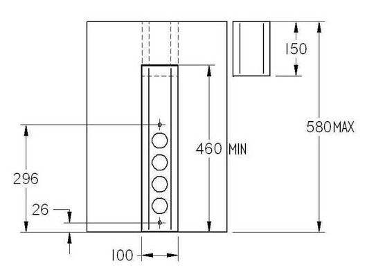 thebo st 3006 4 fach steckdosenleiste steckdosenelement. Black Bedroom Furniture Sets. Home Design Ideas