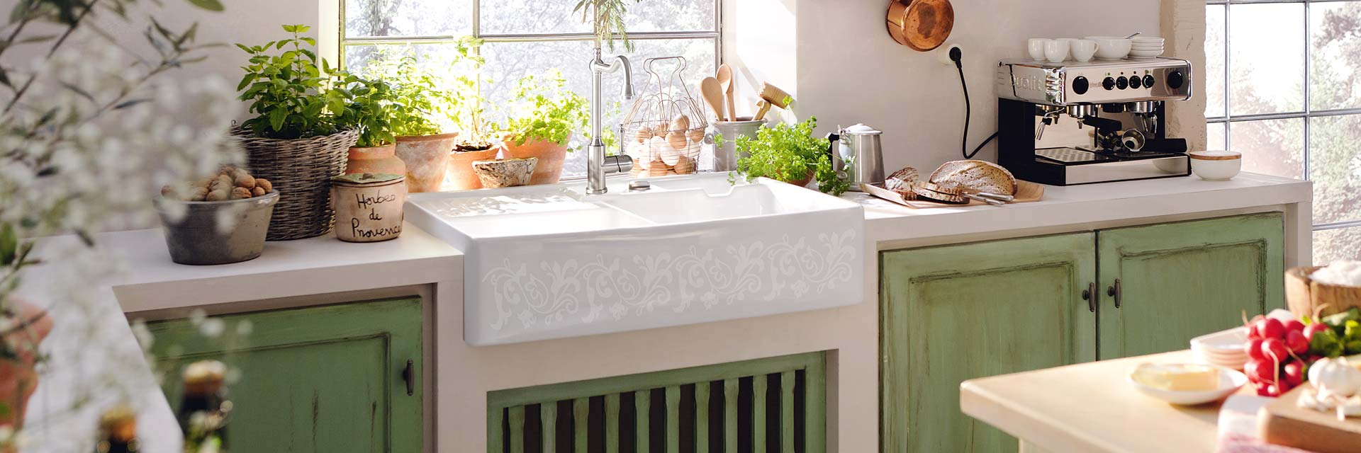 Bring Farbe in deine Küche