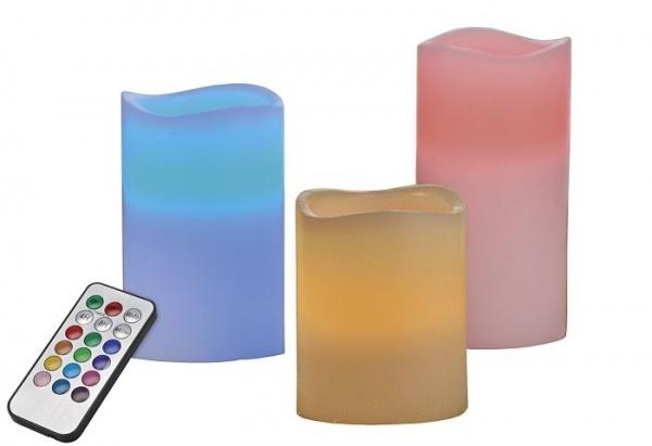 LED-Kerzen für Wohnzimmer oder Küche mit Fernbedienung