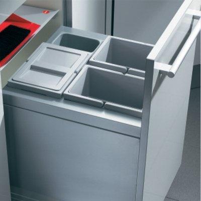 Hailo XT Inset 45.3/30 Einbau Abfallsammler mit 30 Liter Inhalt