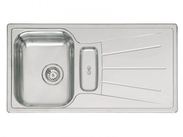 Reginox Diplomat 10 Plus Lux Edelstahl Küchenspüle