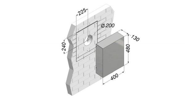 Novy Außenwandmotor 445-200