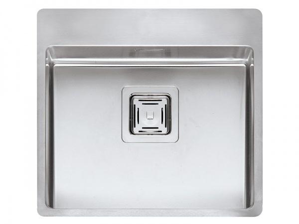 Reginox Texas 50x40 Hahnlochbank Edelstahl Küchenspüle