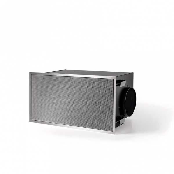 Novy Umluftbox 843.400 Oberfläche Metall grau