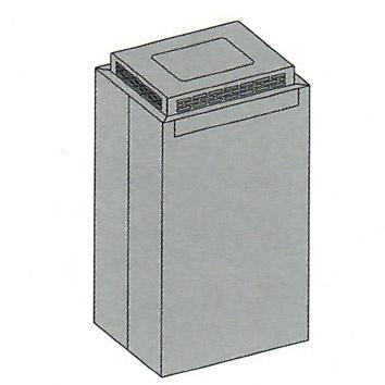 Carbon.ZeoUmluftbox für Inselhauben