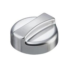 Universal-Drehexcenter-Kappe-rund-Kunststoff-in-chrom-Optik-Drehknopf