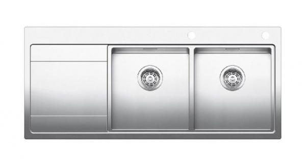 Blanco Divon II 8 S-IF Edelstahlspüle Becken rechts