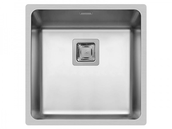 Pyramis Lume 40x40 1B Edelstahl-Küchenspüle