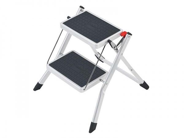 Hailo Mini Stahl-Klapptritt Trittleiter für die Küche