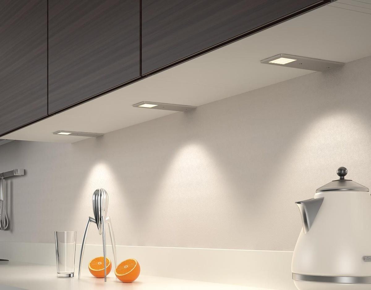 Interessant Domus-Line Küchen LED-Unterbauleuchte Astrale mit Aluminiumgehäuse LE87