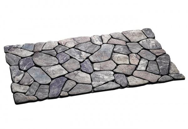 Gummiflockmatte Masterpiece Flagstone