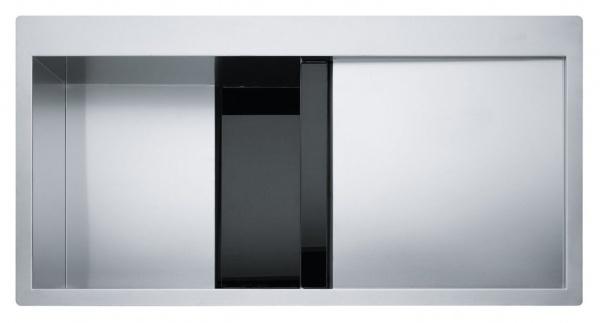 Franke Crystal CLV 214 Schwarz links