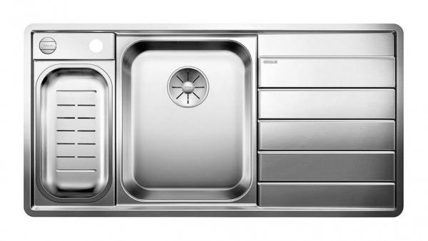 Blanco Axis III 6 S-IF Edition Edelstahlspüle Becken links
