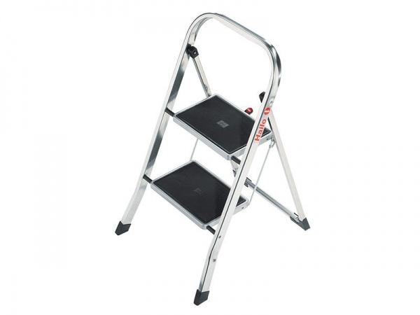 Hailo K30 Aluminium-Klapptritt für Küche und Wohnung oder Haus