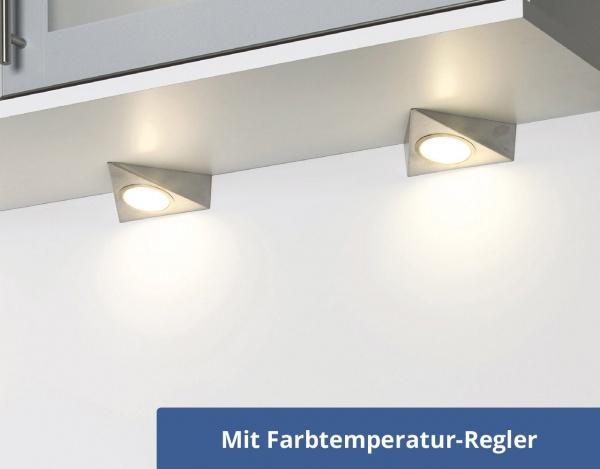 LED Unterbauleuchte Piccolo Sun Change für Küchen-Oberschränke