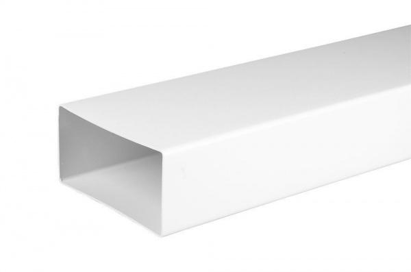 Flachkanal mit Muffe hochwertiger Kunststoff