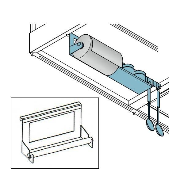 Küchenpapierrollenhalterung für Falmec Spazio