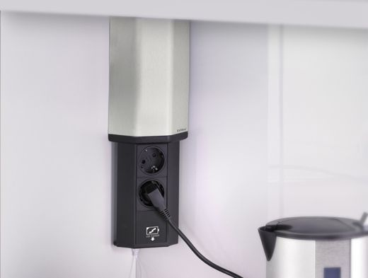 EVOline V-Port USB Charger Steckdose