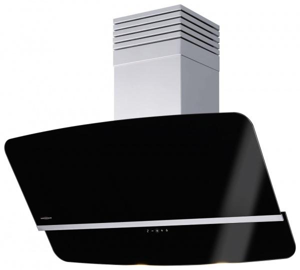 Rota 60 S, 4-stufig, Touch-Control und Fernbedienung, Schwarzglas