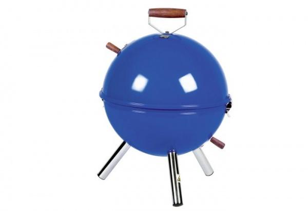 Mini-Kugelgrill blau
