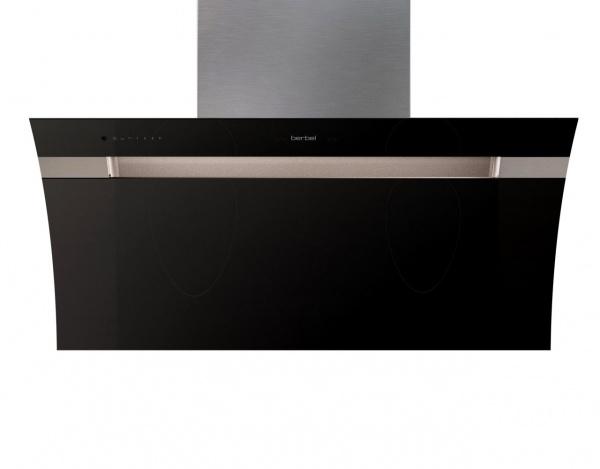 berbel bkh 90 gl 2 glassline kopffreihaube schwarz oder wei. Black Bedroom Furniture Sets. Home Design Ideas
