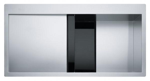 Franke Crystal CLV 214 Schwarz rechts