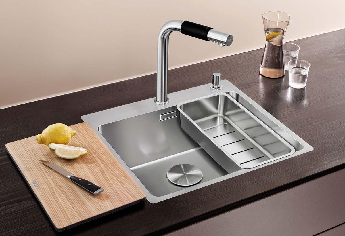 Spülbecken rund edelstahl matt  Küchenspülen aus Edelstahl, Granit oder Keramik