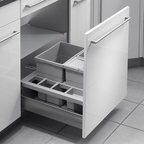 Hailo Separato K 60 Frontauszug 3620-60 Auszug-Küchenmülleimer