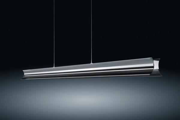 LED Pendelleuchte Rucca Grau